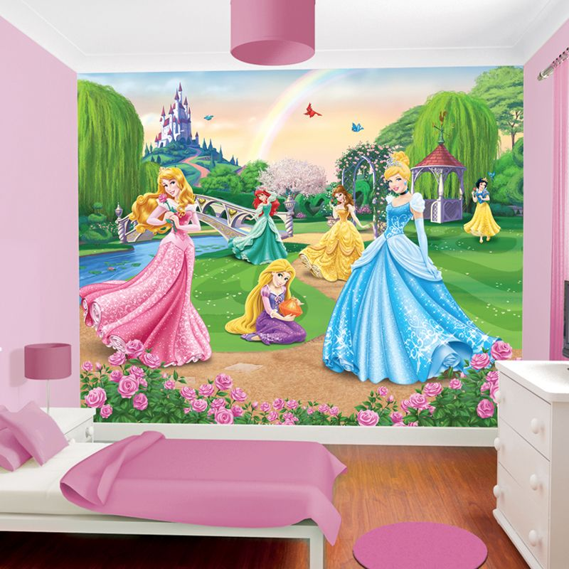 disney papier peint princesse walltastic. Black Bedroom Furniture Sets. Home Design Ideas